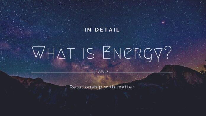 ecloudknowledge, energy, matter